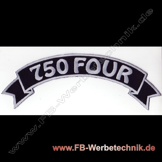 1002 Patch 750 FOUR Rücken Aufnäher Patch
