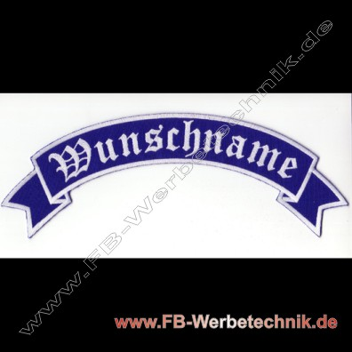 1013 WUNSCHNAME Aufnaeher Patch