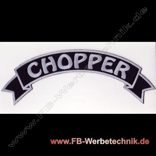 1031 CHOPPER Biker Rücken Patch