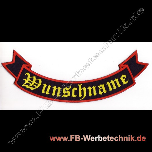 1220 WUNSCHNAME Biker Club Patches