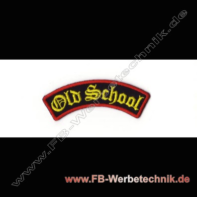 Old School Aufnaeher Biker Patch Patche