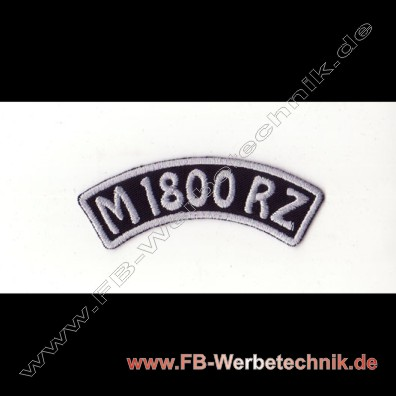 M 1800 RZ Aufnaeher Biker Patch Patches