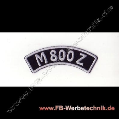 M 800 Z Aufnaeher Biker Patch Patches