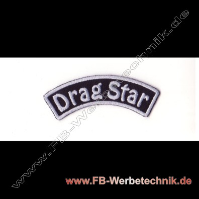 Drag Star Aufnaeher Biker Patch Patches