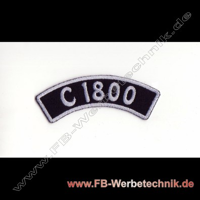 C 1800 Aufnaeher Biker Patch Patches
