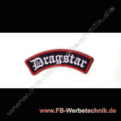 Dragstar Aufnaeher Biker Patch Patches