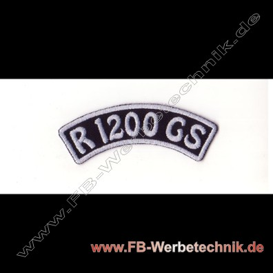 R 1200 GS Aufnaeher Biker Patch Patches