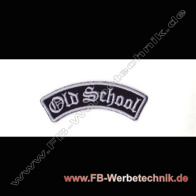 Old School Aufnaeher Biker Patch Patches