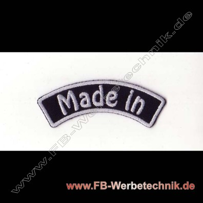 Made in Aufnaeher Biker Patch Patches