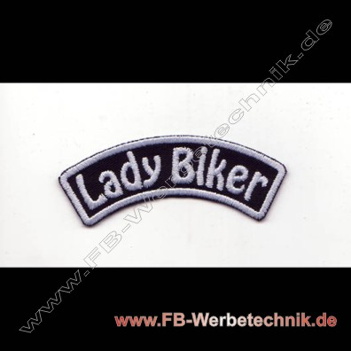 Lady Biker Aufnaeher Patch Patches