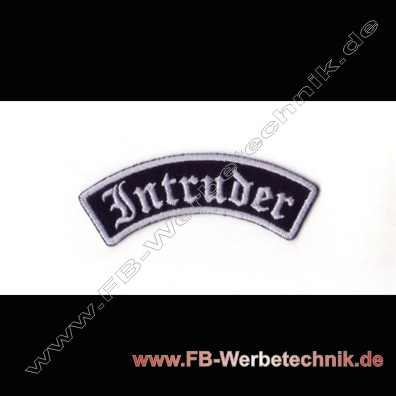 Intruder Aufnaeher Biker Patch Patches