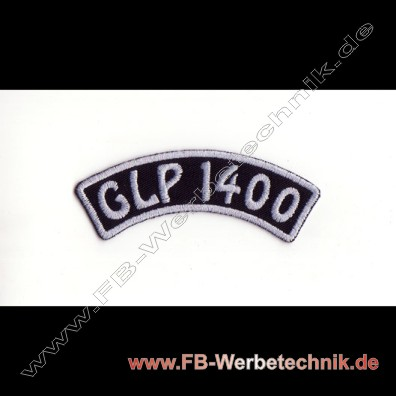 GLP 1400 Aufnaeher Biker Patch Patches