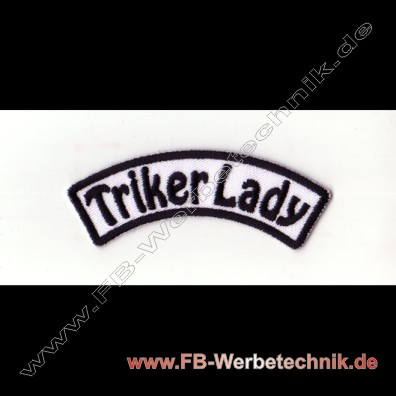 Triker Lady Aufnaeher Trike Patch Patches