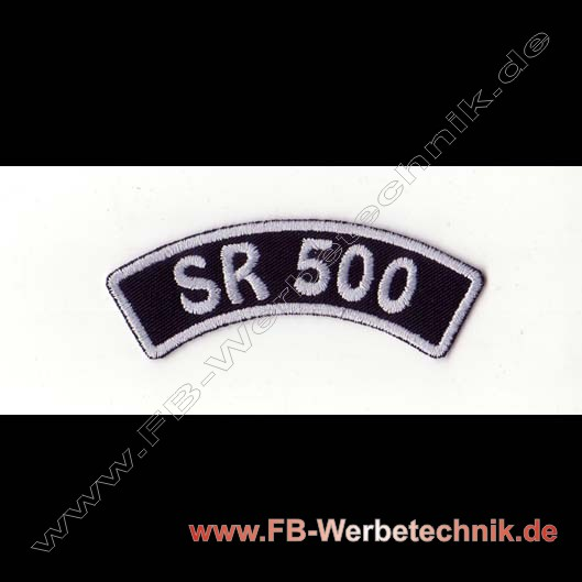 SR 500 Aufnaeher Biker Patch Patches