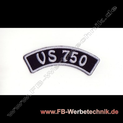 VS 750 Aufnaeher Biker Patch Patches