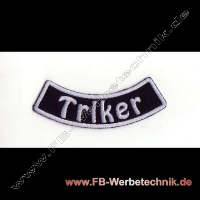 Triker Aufnaeher Trike Patch Patches