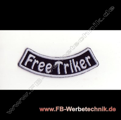 FreeTriker Aufnaeher Trike Patch Patches