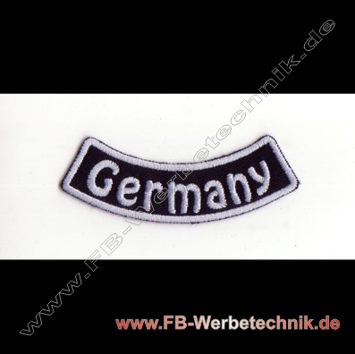 Germany Aufnaeher Biker Patch Patches