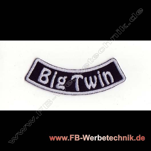 Big Twin Aufnaeher Biker Patch Patches