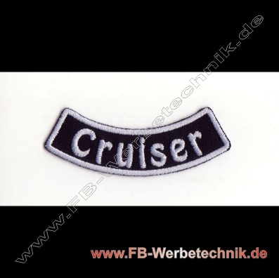 Cruiser Aufnaeher Biker Patch Patches