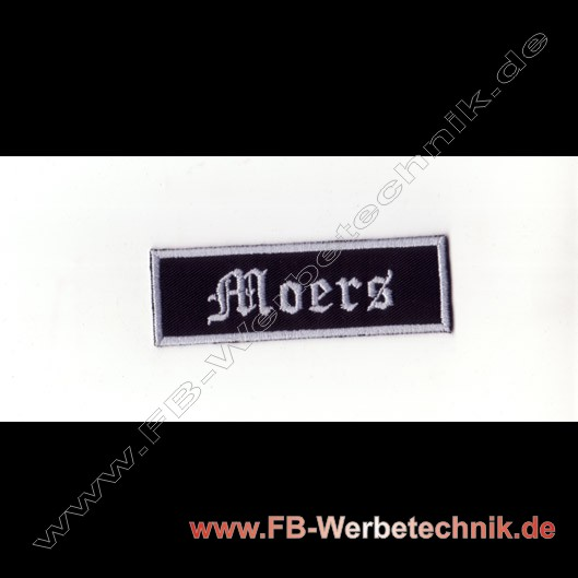 Moers Aufnaeher Biker Patch Patches