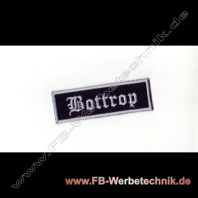 Bottrop Aufnaeher Biker Patch Patches