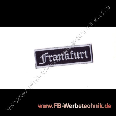 Frankfurt Aufnaeher Biker Patch Patches