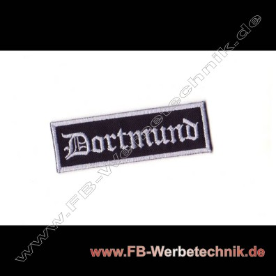 Dortmund Aufnaeher Biker Patch Patches