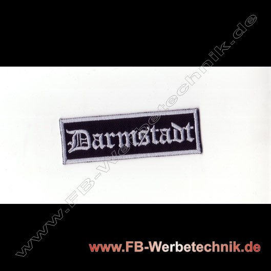 Darmstadt Aufnaeher Biker Patch Patches
