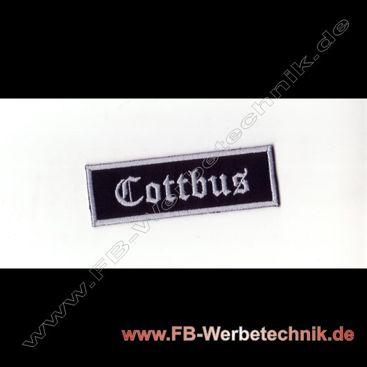 Cottbus Aufnaeher Biker Patch Patches