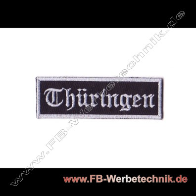 Thueringen Aufnaeher Biker Patch Patches