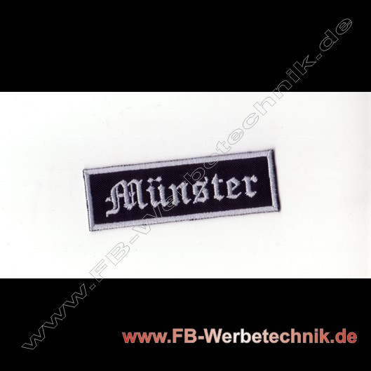 Muenster Aufnaeher Biker Patch Patches