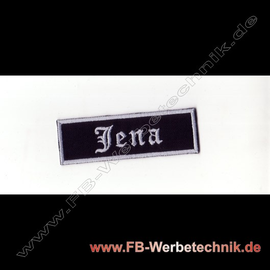 Jena Aufnaeher Biker Patch Patches