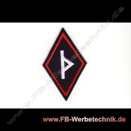 Thurisaz Rune Aufnaeher Runen Patch Patches