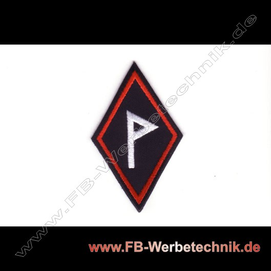 Wunjo Rune Aufnaeher Runen Patch Patches