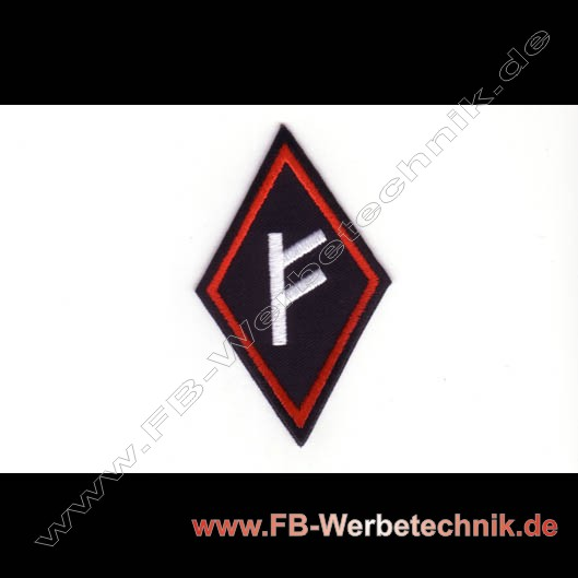 Fehu Rune Aufnaeher Runen Patch Patches