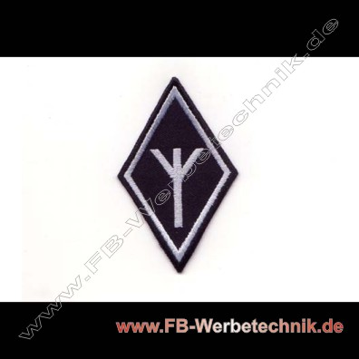 Algiz Rune Aufnaeher Runen Patch Patches