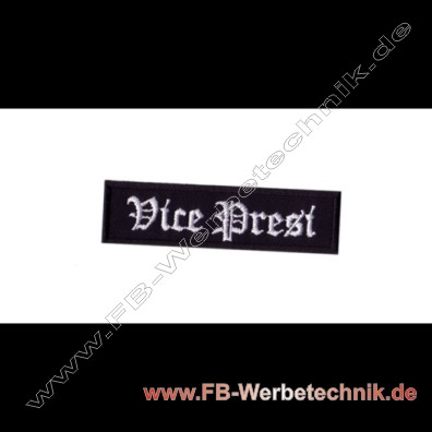 Vice Presi Aufnaeher Motorrad Patch Patches