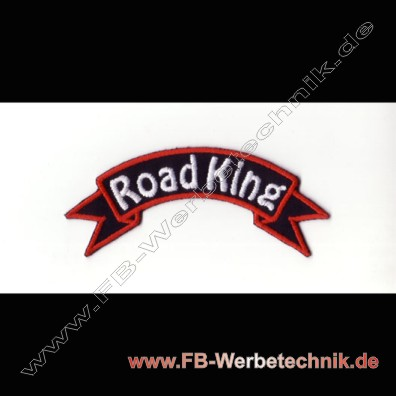 Road King Aufnaeher Biker Patch Patches