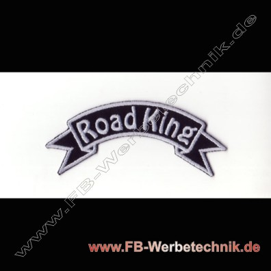 Road King Aufnaeher Motorrad Patch Patches