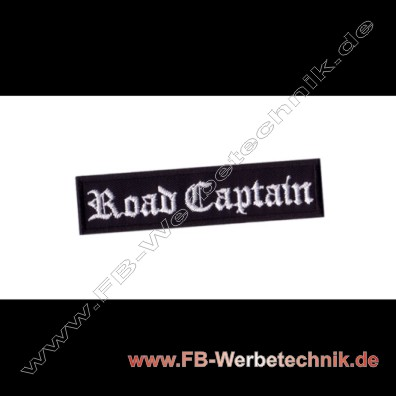 Road Captain Aufnaeher Biker Patch Patches