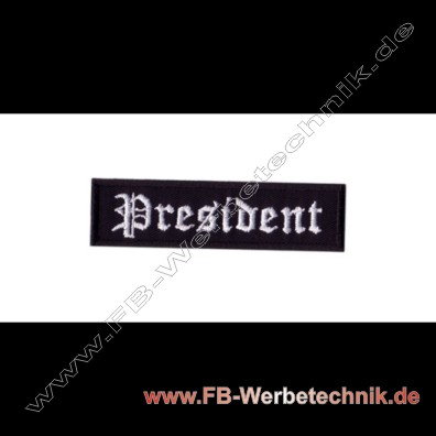 President Aufnaeher Biker Patch Patches