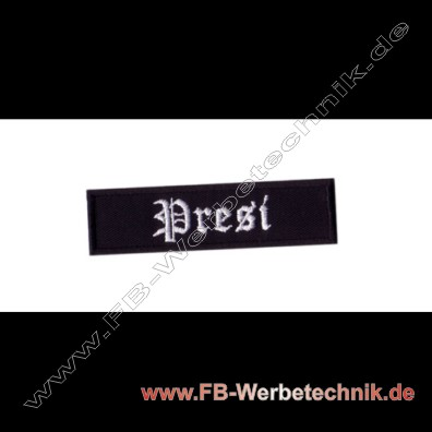 Presi Aufnaeher Biker Patch Patches