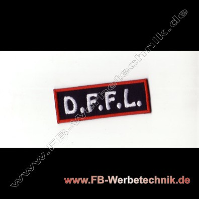 D.F.F.L. Aufnaeher Biker Patch Patches