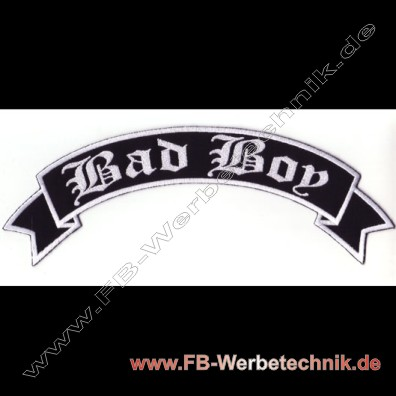 1759 Bad Boy Aufnaeher Motorrad Patch Patches