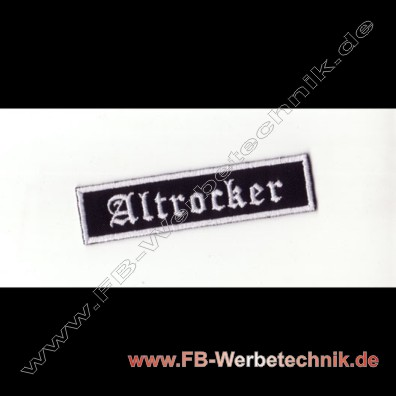 Altrocker Aufnaeher Biker Patch Patches