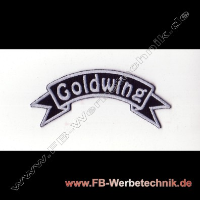 Goldwing Aufnaeher Biker Patch Patches