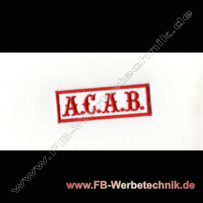 A.C.A.B. Aufnaeher Biker Patch Patches