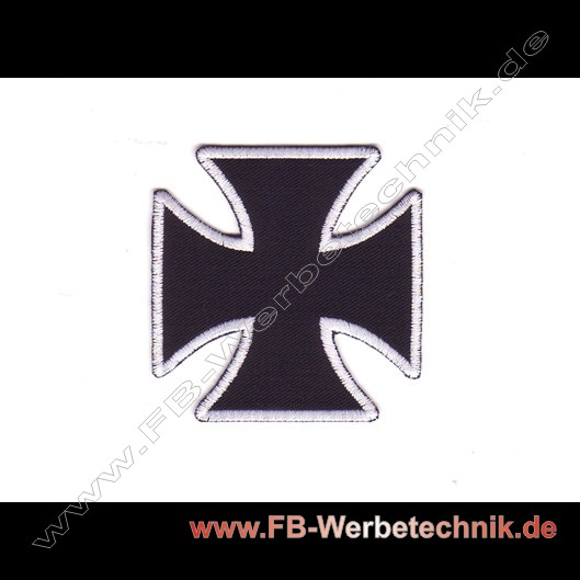 Kreuz EK Aufnaeher Biker Patch Patches