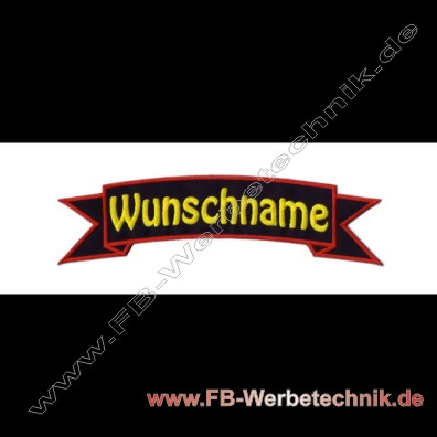 1840 Wunschname Aufnaeher Biker Patch Patches